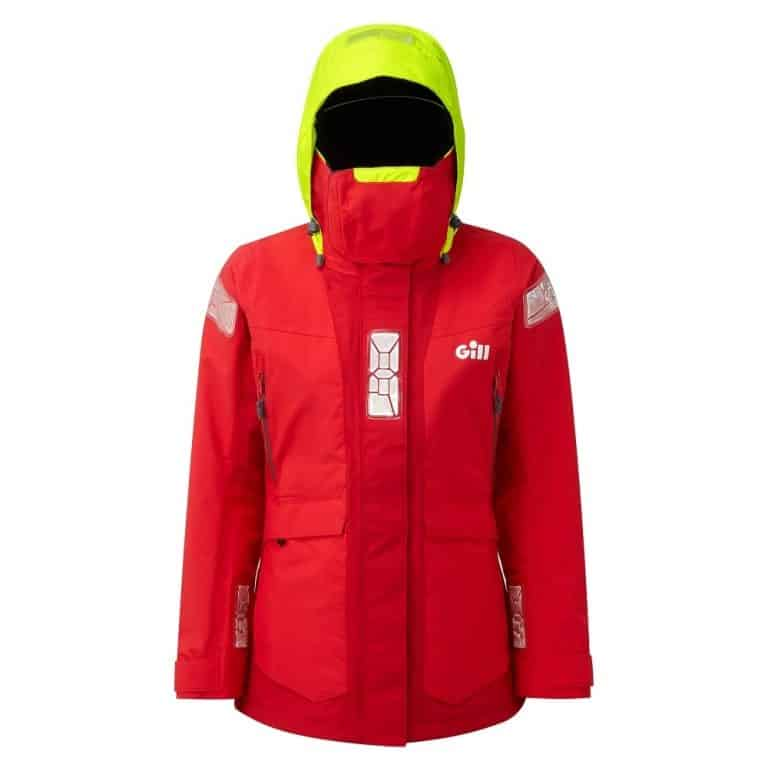 Gill OS2 Offshore Jacket For Women 2021 - Red/Bright Red