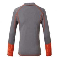 Gill Pro Rash Vest Long Sleeve Junior - Grey Melange