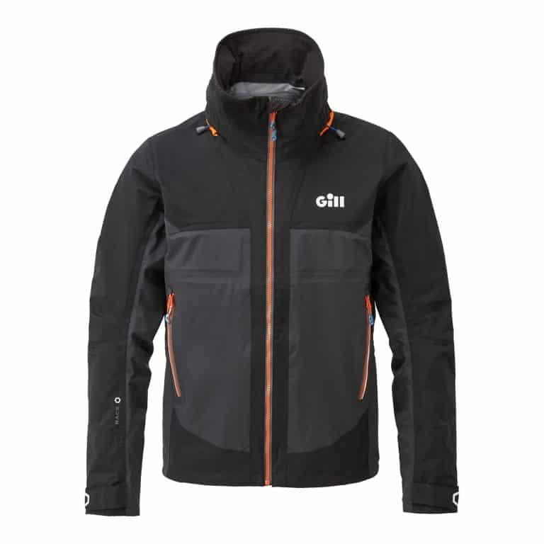 Gill Race Fusion Jacket 2021 - Black/Graphite