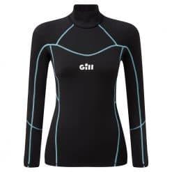 Gill Womens Hydrophobe Top Black - Black