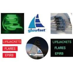 Glowfast Luminous Fire Extinguisher Label - Image