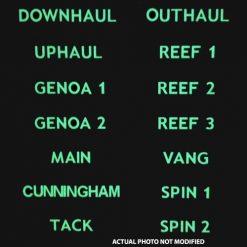 Glowfast Luminous Rope Clutch Labels (Set of 14) - Image