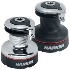 Harken Radial Winches - Chrome and Alloy