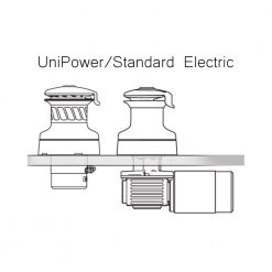 Harken UniPower Radial Self Tailing Electric Winch - Image