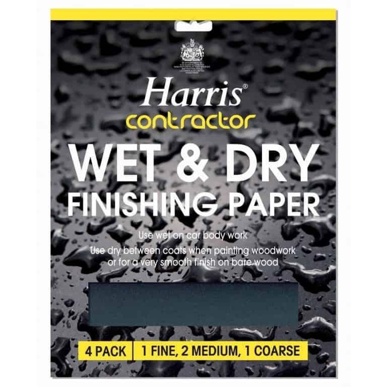 Harris Wet & Dry Sandpaper Pack - Image