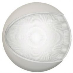 Hella Marine Euro LED White Shroud White Light Out - Image