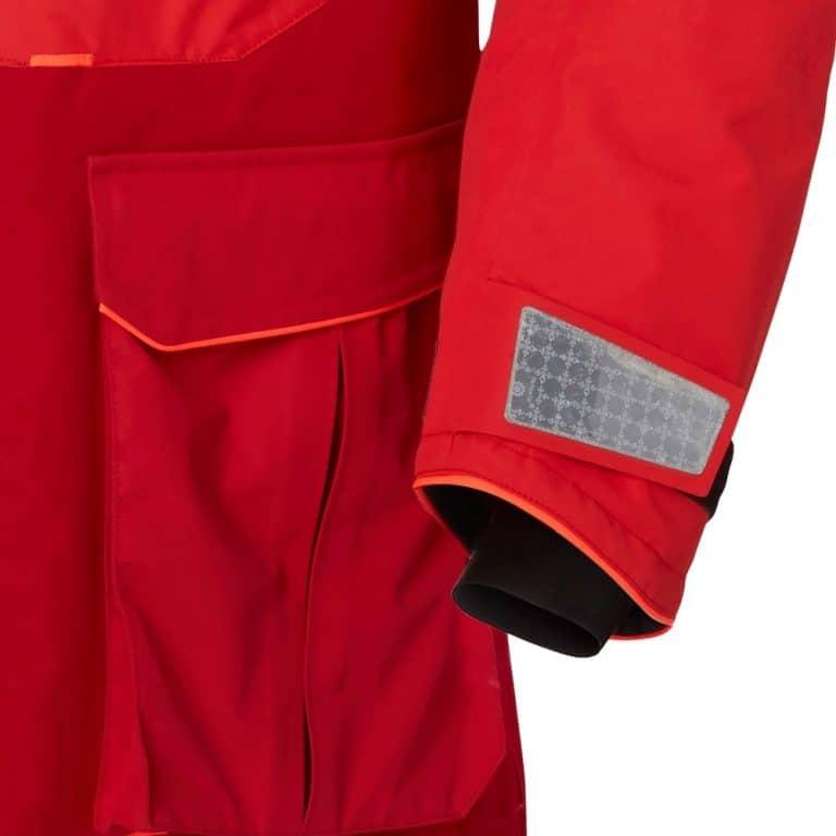 Helly Hansen Aegir Ocean Jacket - Alert Red