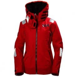 Helly Hansen Aegir Race Jacket For Women - Alert Red