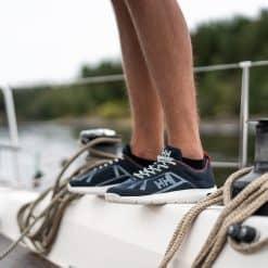 Helly Hansen Burghee Foil Deck Shoe - Navy