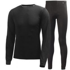 Helly Hansen Comfort Light Base Layer Set - Black