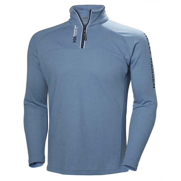 Helly Hansen HP 1/2 Zip Pullover - Blue Fog