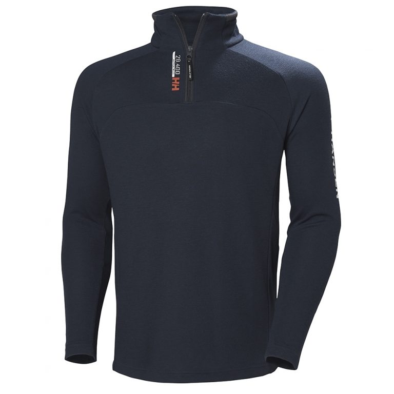 Helly Hansen HP 1/2 Zip Pullover - Navy - 598
