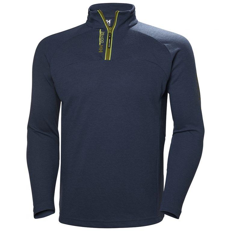 Helly Hansen HP 1/2 Zip Pullover - North Sea Blue