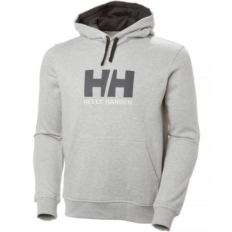 Helly Hansen Logo Hoodie - Grey