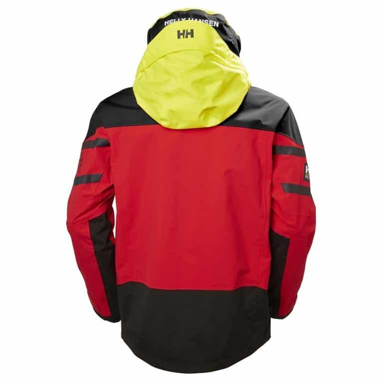 Helly Hansen Men's Skagen Offshore Jacket - Alert Red