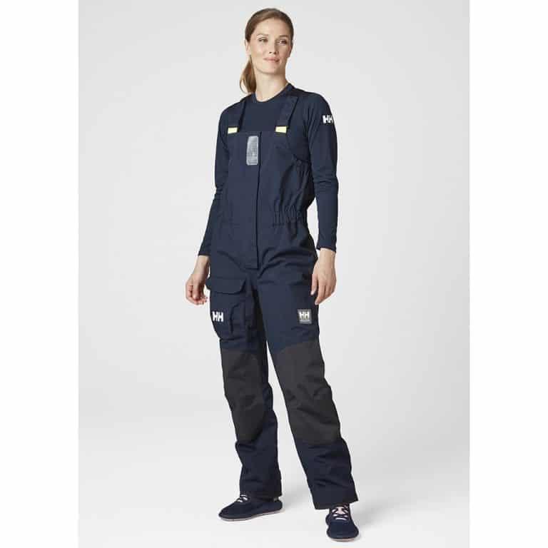 Helly Hansen Pier Bib Trousers For Women - Navy