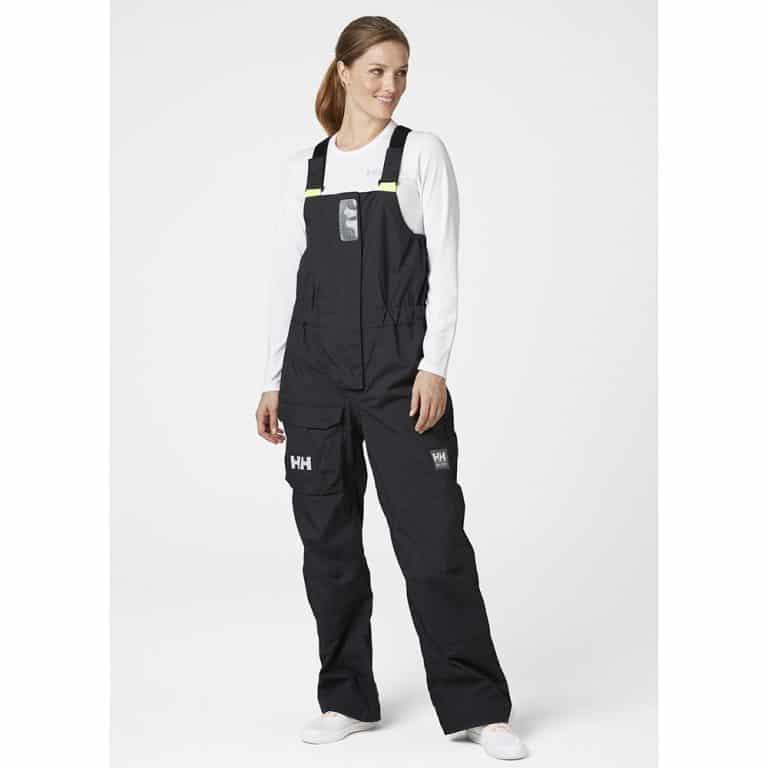 Helly Hansen Pier Bib Trousers For Women - Ebony