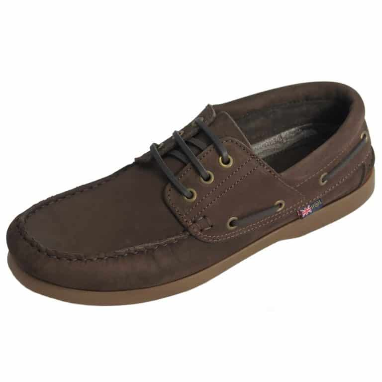 Henri Lloyd Channel 3 Eye Deck Shoe - Brown