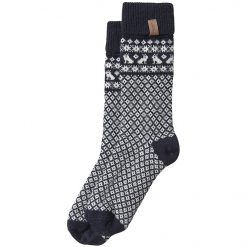 Holebrook Beatrix Socks - Navy/Off White