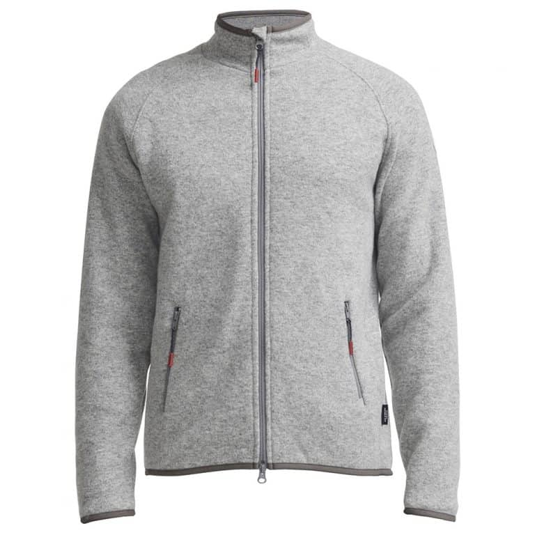 Holebrook Nisse Full Zip Sweater - Grey