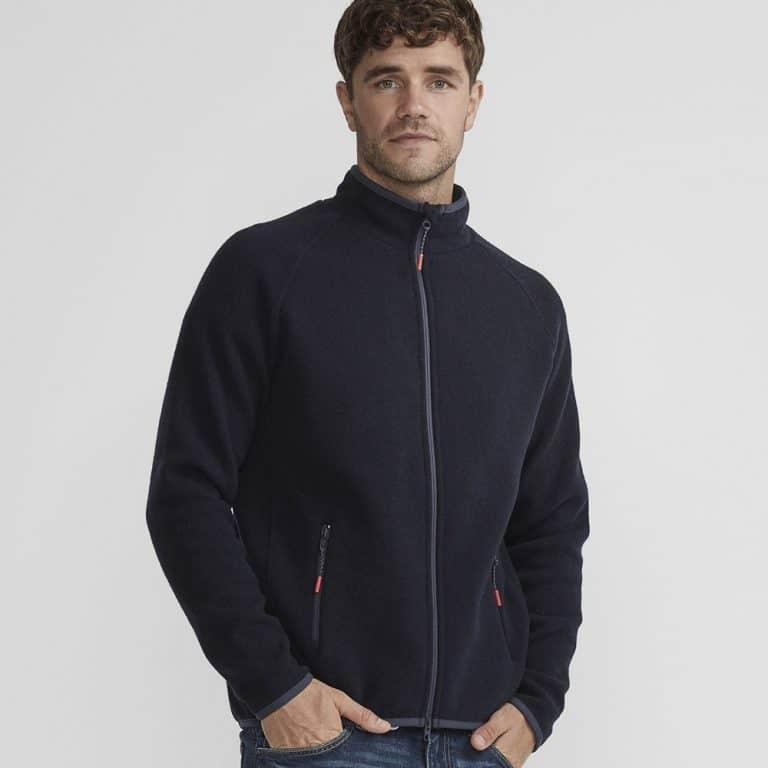 Holebrook Nisse Full Zip Sweater - Navy
