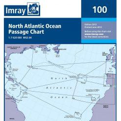 Imray 100 Atlantic Routing Chart - Image
