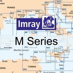 Imray M Series Nautical Charts - Mediterranean Sea - Image