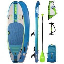 Jobe Venta 9.6 Inflatable WindSUP Paddle Board with Sail - Image