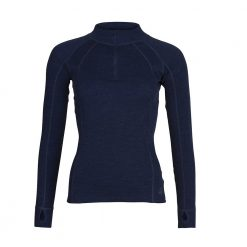 Key West Women's Zip Neck - Navy