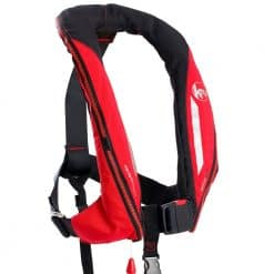 Kru Sport 170 ADV Lifejacket - Red/Carbon