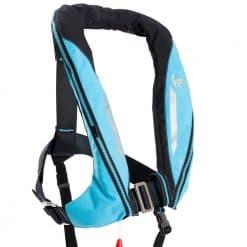 Kru Sport 170 Lifejacket - Carbon/Sky Blue
