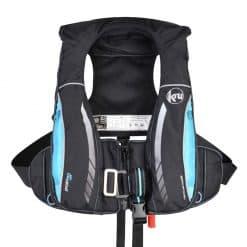 Kru Sport Pro 170N ADV Lifejacket - Carbon / Sky