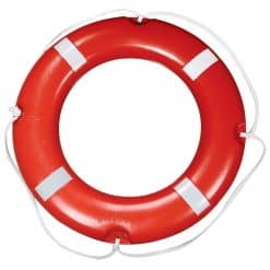 Lalizas Lifebuoy Ring SOLAS with Reflective Tape - Image