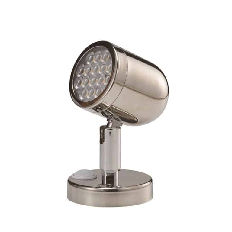 AAA LED Reading Light Stainless Steel 304 - Image