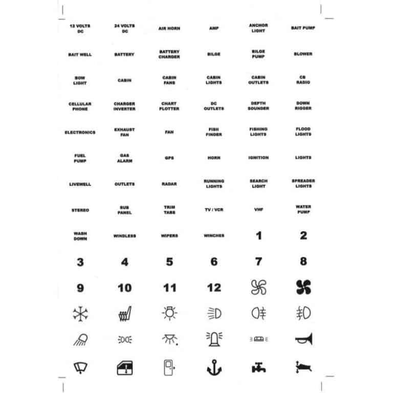 Legend Label Sticker Sheet - Image