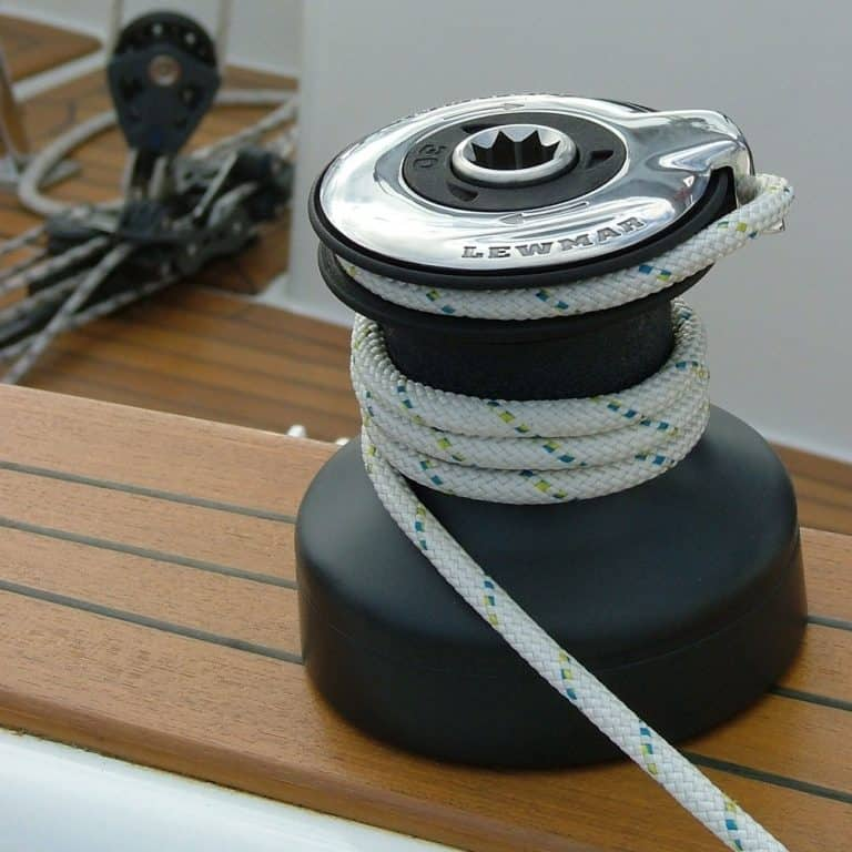 Lewmar Evo Self Tailing Winches - On Deck