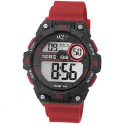Limit Digital Countdown Watch - Red