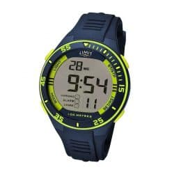 Limit Digital Watch - Navy/Lime