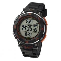Limit Pro XR Countdown Watch - Black / Orange