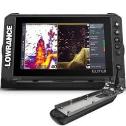 Lowrance Elite FS 9 with 3 in 1 Transducer - Image
