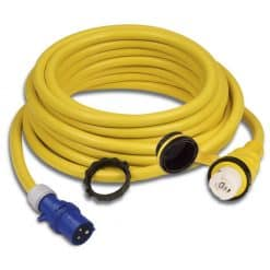 Marinco Shore Power Cable 32A With European Plug - Image