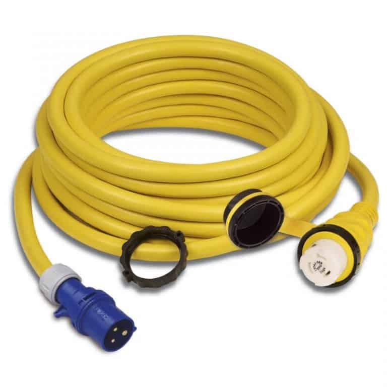 Marinco Shore Power Cable 32A With European Plug - Image