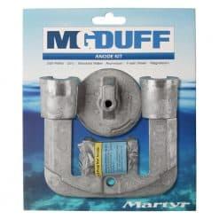 MG Duff Mercruiser Bravo 2 & 3 Magnesium Engine Anode Kit - Image