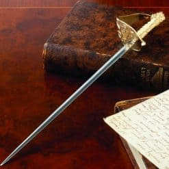 Miniature Royal Naval Sword Letter Opener - Image