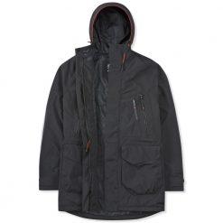 Musto Biome BR1 Jacket - Black / Fire Orange