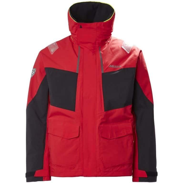 Musto BR2 Coastal Jacket - True Red/Black