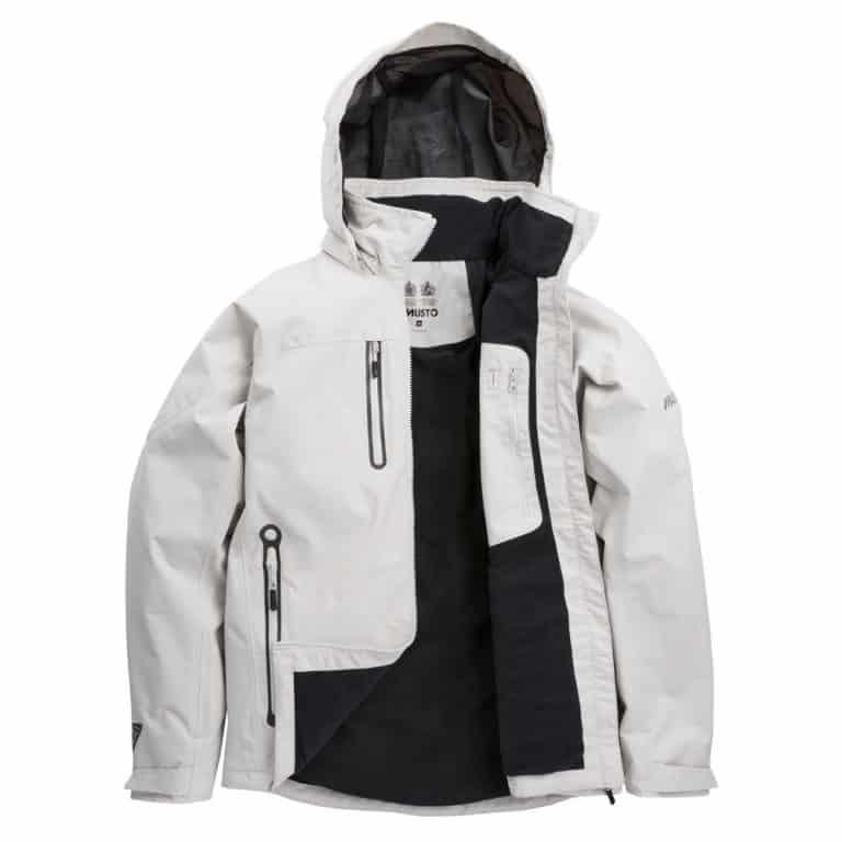 Musto Corsica BR1 Jacket 2019 - Platinum/Platinum