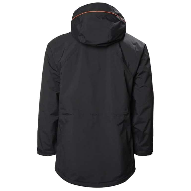Musto Corsica BR1 Long Jacket - Black/Fire Orange