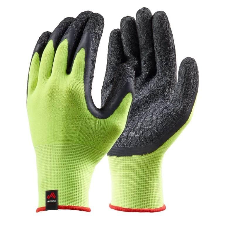 Musto Dipped Grip Gloves (Pack of 3) - Sulphur Spring/Black
