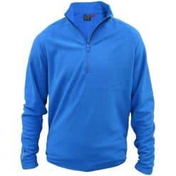 Musto Essential Microfleece 1/2 Zip - Brilliant Blue